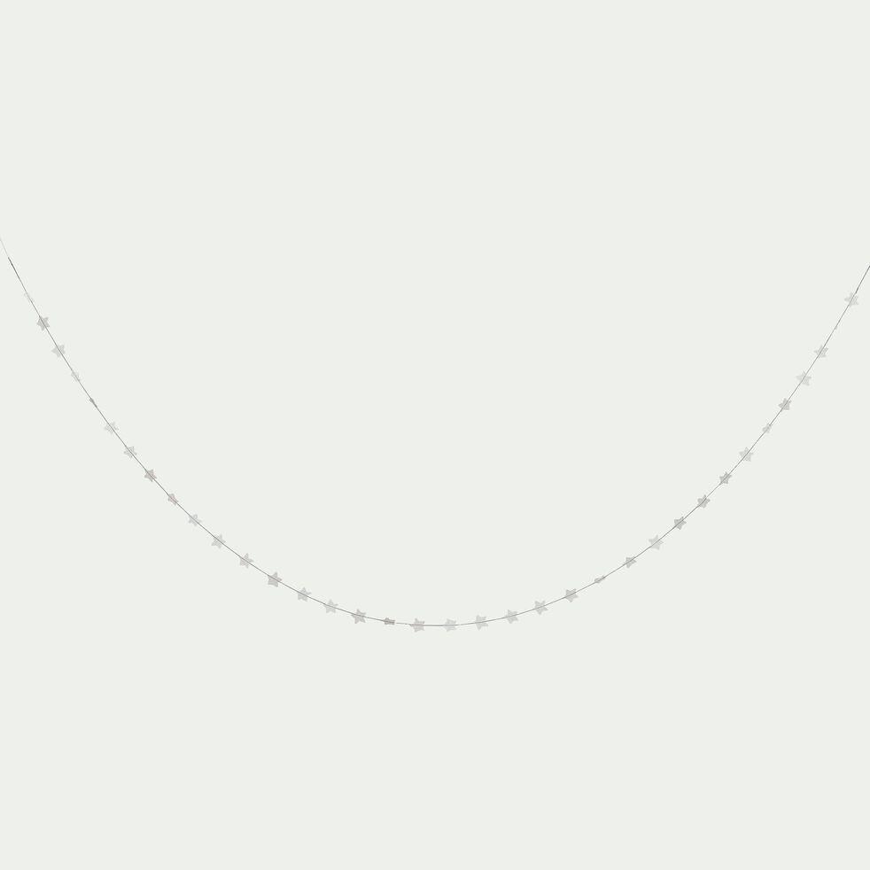 Guirlande décorative étoiles - argent l3m-Linda