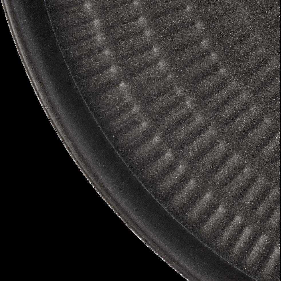 Plateau en métal Brun calabrun D65 cm-STRIGLIA