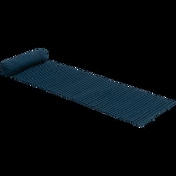 Tapis de plage 60x170 cm bleu figuerolles-MATIS