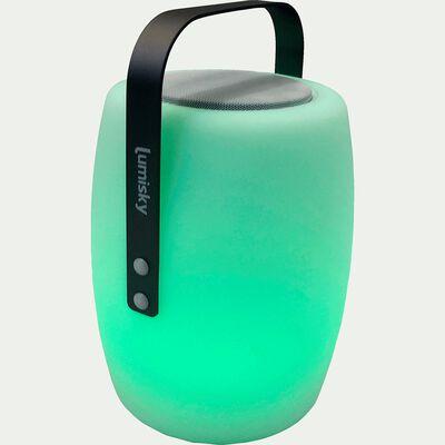 Lampe à poser nomade / enceinte bluetooth H30cm-lucy play