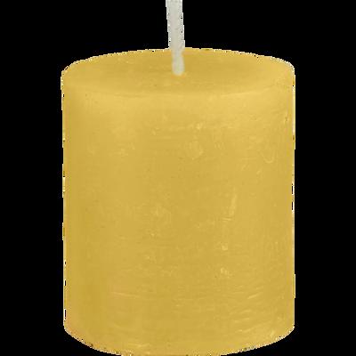 Bougie votive coloris beige nèfle H4,5cm-BEJAIA