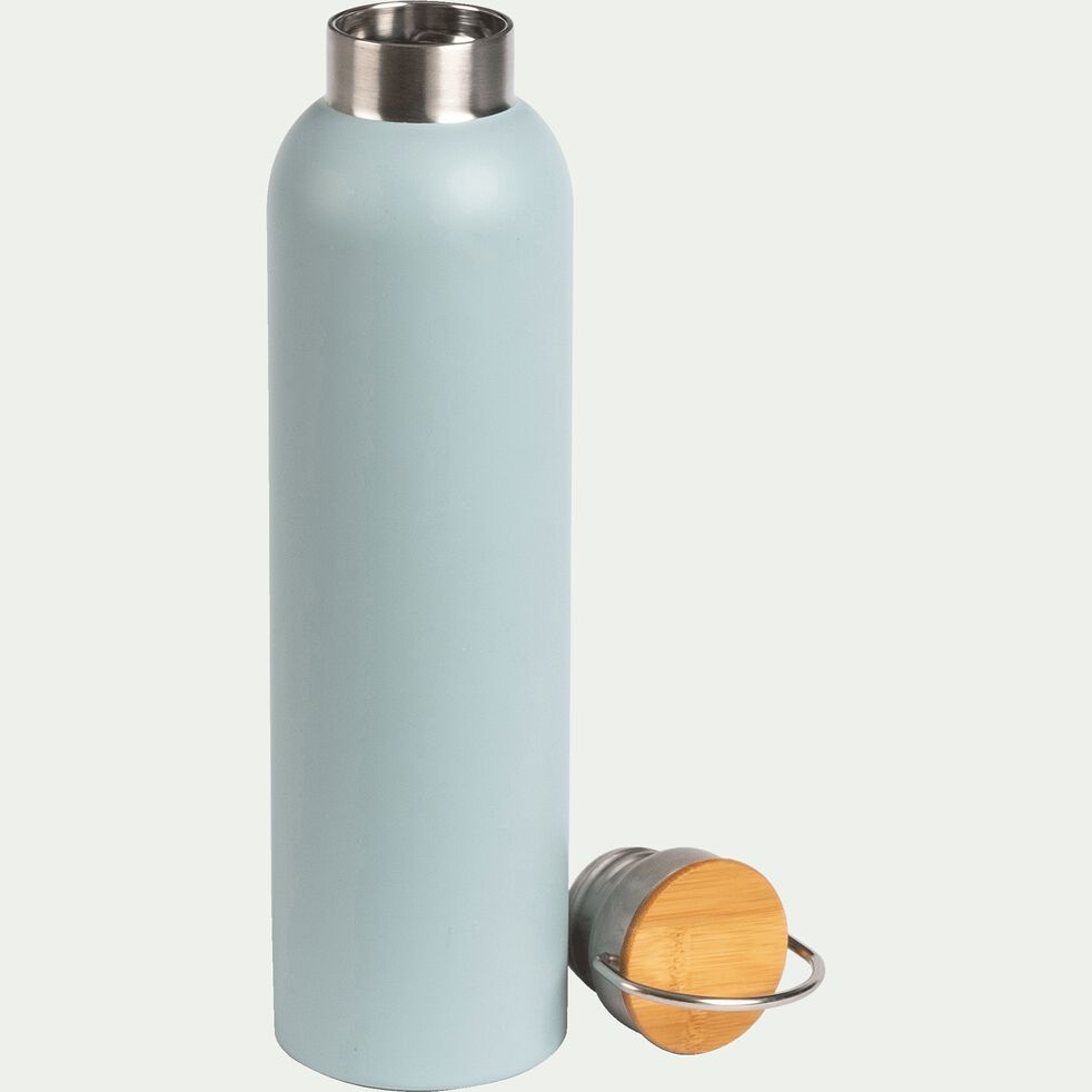 Bouteille en inox - bleu calaluna - 1L-Coucourdo