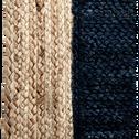 Tapis en jute bleu myrte 160x230cm-NAÏA