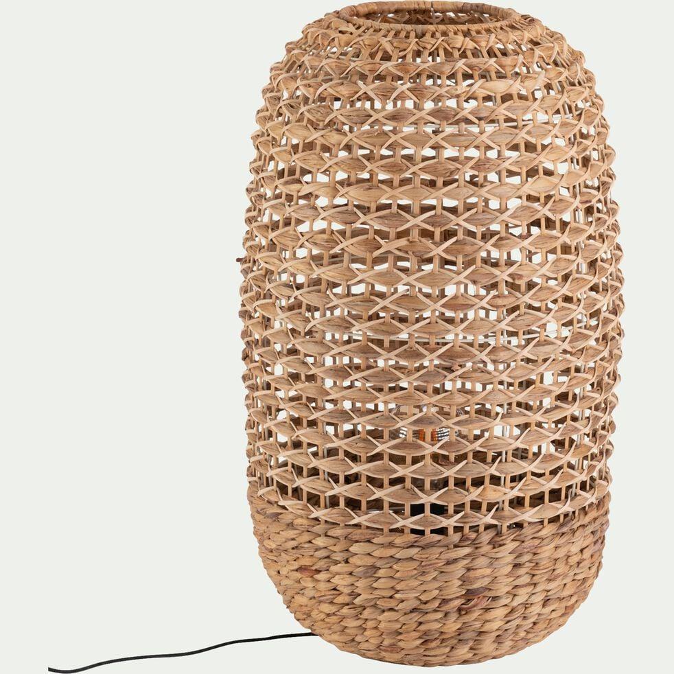 Lampe en rotin - D40xH70cm naturel-VENACO