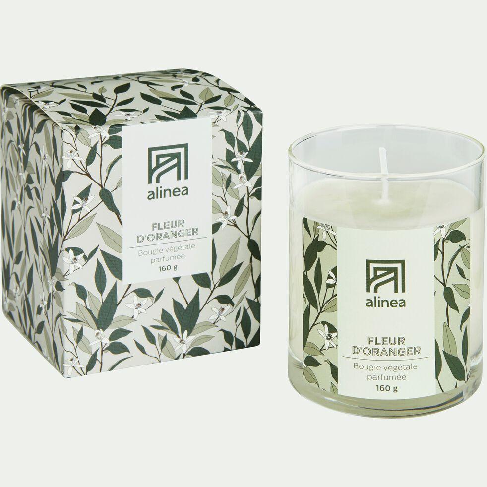 Bougie parfumée senteur Fleur d'Oranger 160g-ORANGER
