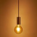 Suspension décorative douille dorée H100cm-SAVANA
