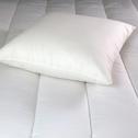 Oreiller en coton bio et polyester recyclé - 60x60cm-COTON BIO