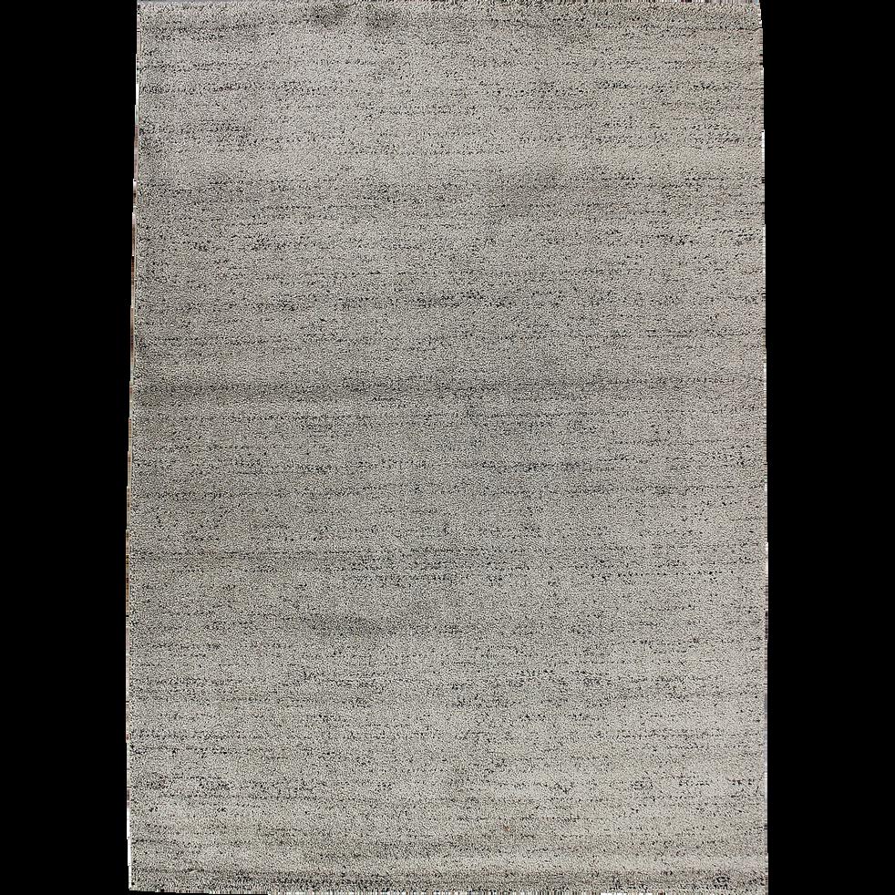 Tapis gris clair moucheté 120x170cm-STESSY