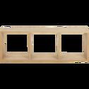 Étagère 3 cases en chêne-Tassia