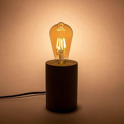 Ampoule LED déco à filament poire lumière chaude - ambre D6,4cm-EDIS