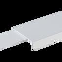 Tiroir de rangement blanc pour lit DELIA - L120 cm-DELIA