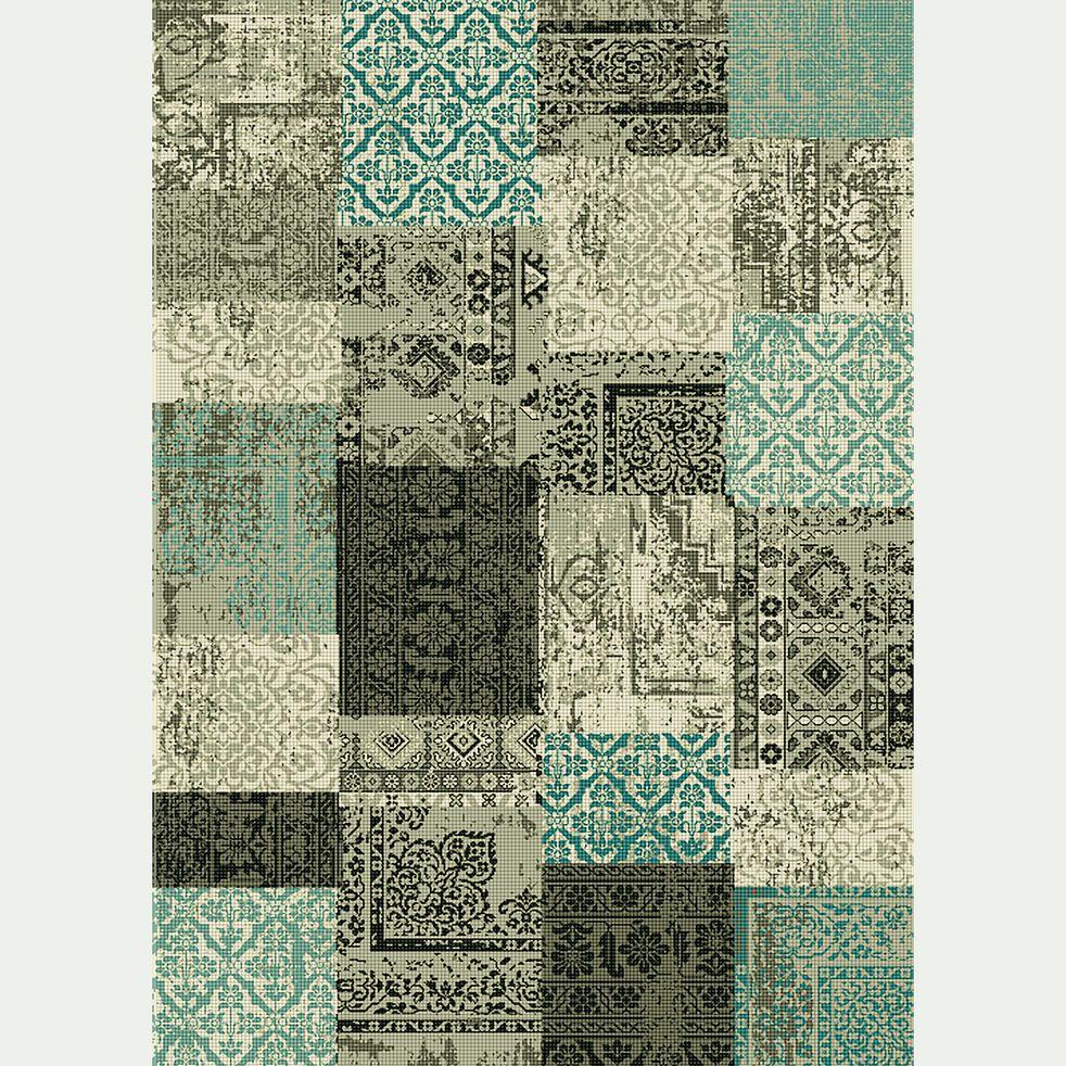Tapis patchwork - vert 160x230cm-ARTY