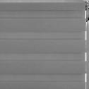 Store enrouleur tamisant gris anthracite112x190cm-JOUR-NUIT