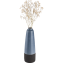 Vase en céramique bleu H36 cm-ARNO