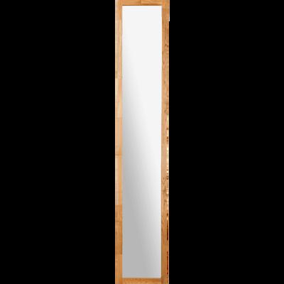 Colonne de salle de bain en chêne avec miroir-EOLE