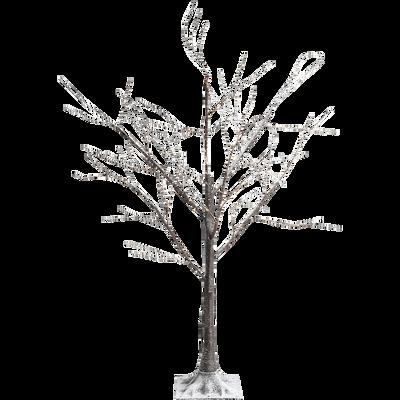 arbre h180cm - 600 microled blanc chaud-BOULEAU