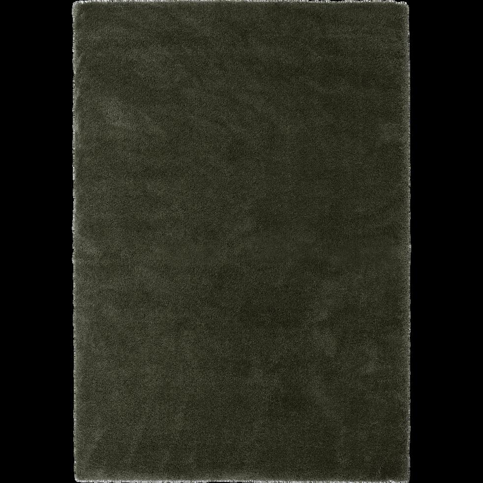 tapis poils longs vert c dre plusieurs tailles kris 200x290 cm catalogue storefront. Black Bedroom Furniture Sets. Home Design Ideas