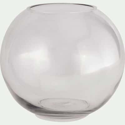 Vase boule transparent D20cm-CERS