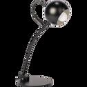 Lampe en métal noir H45cm-BALL