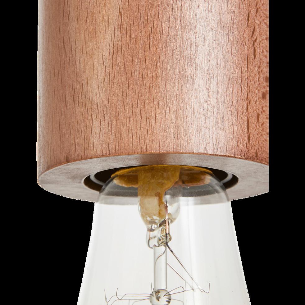 Suspension en bois foncé H8,5xD6,5cm-PRAO