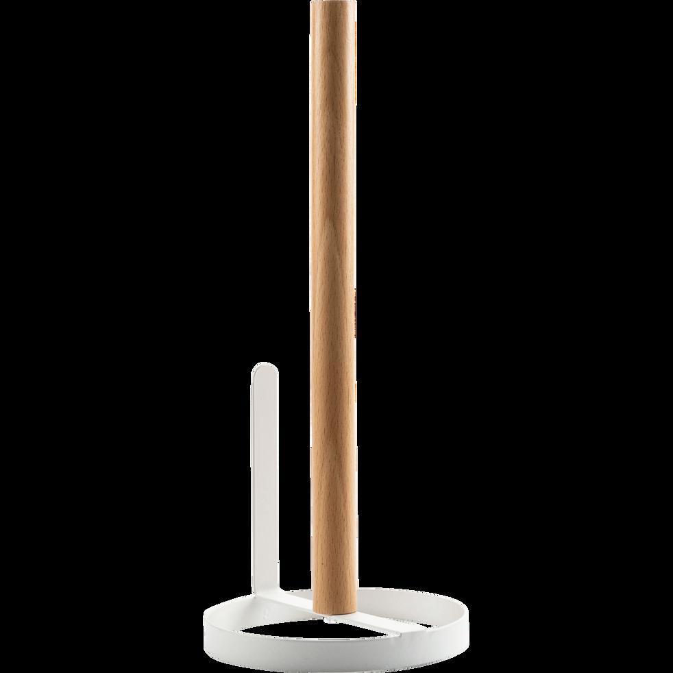 Porte essuie-tout en bois-ESCU