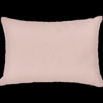 Coussin en coton rose argile 40x60cm-CALANQUES