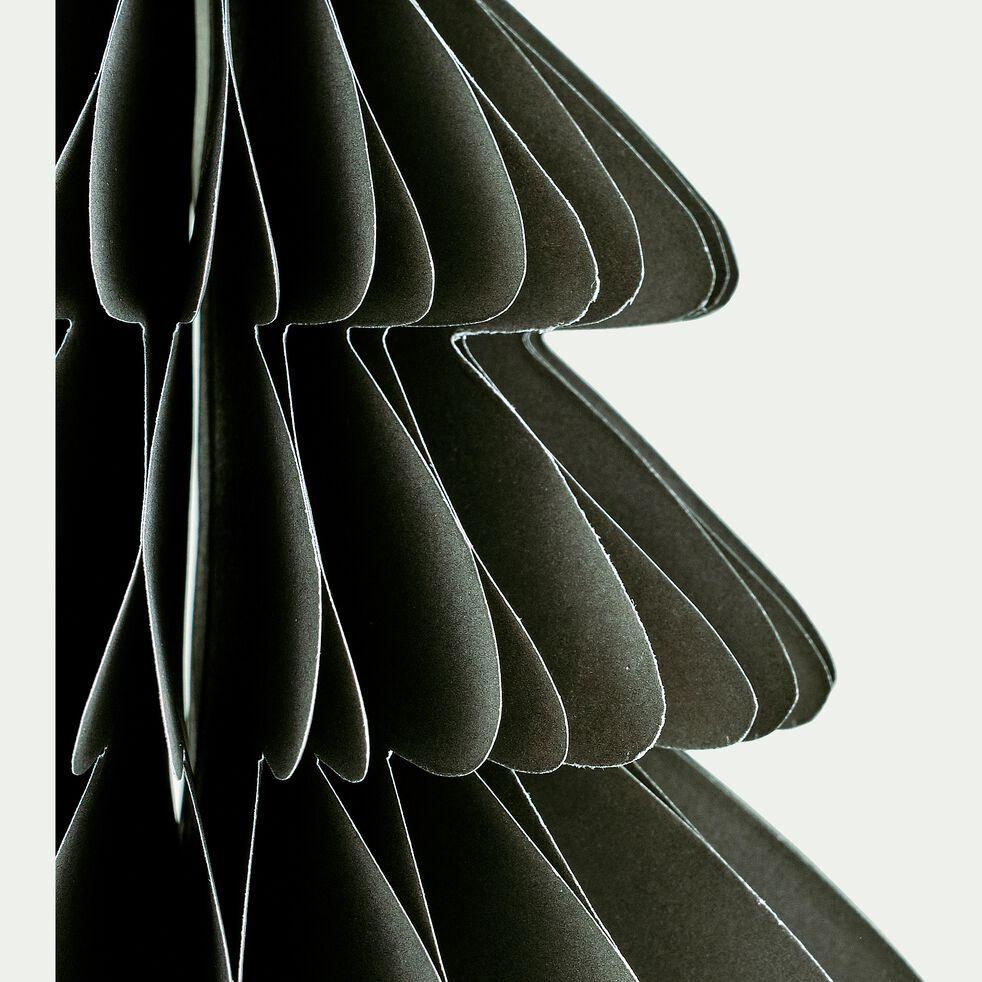 Sapin à poser en papier vert cèdre H18cm-TROPHIME