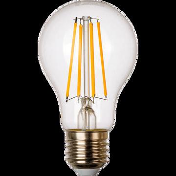 Ampoule LED blanc chaud D6cm E27-STANDARD