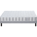 Pack matelas ressorts+sommier+pieds Epeda 140x200cm-ATELIER