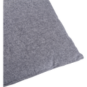 Coussin chambray gris restanque 40x60cm-CORBIERE