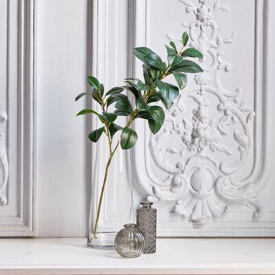 Branche artificielle de laurier - vert H70cm-LAURIER