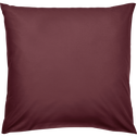 Taie d'oreiller en coton lavé rouge sumac 65x65 cm-CALANQUES