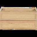 Bloc de 2 grands tiroirs L82cm-Tassia