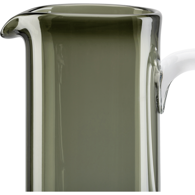 Carafe en verre gris 1L-STEFANO