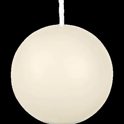 Bougie boule beige roucas-HALBA