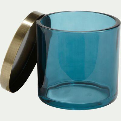 Gobelet en verre bleu-AZALEE