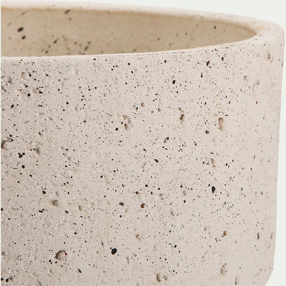 Pot en terre cuite - H45xD23cm beige-PILA