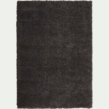 Tapis à poils longs - gris 160x230cm-Kris