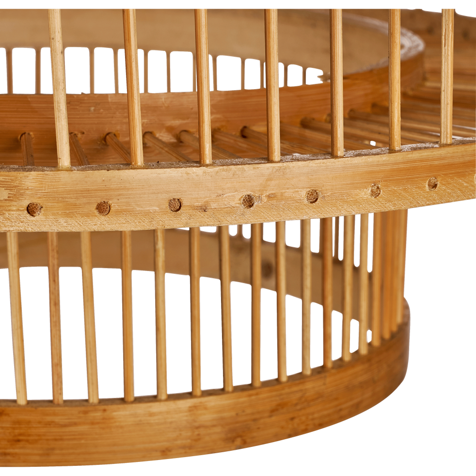 Suspension naturelle en bambou D33xH40cm-HYDRA