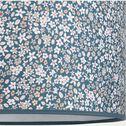 Abat-jour à suspendre motif fleuri d35cm - multicolore bleu-Sigean