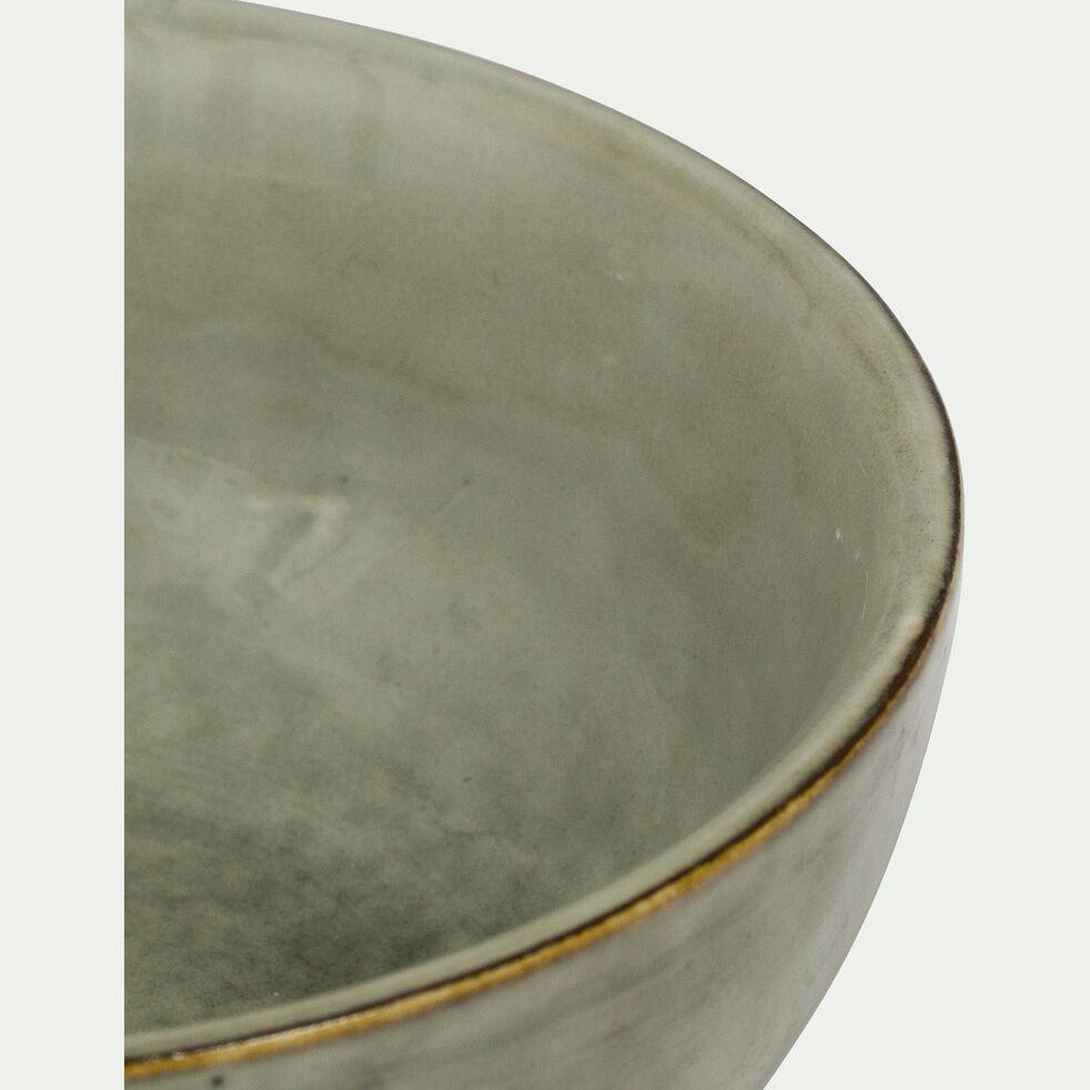 Coupelle en grès vert D11cm-ADAM