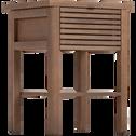 Chevet 1 tiroir en pin-CRUZ