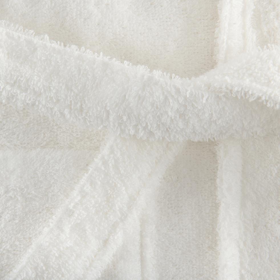 Peignoir en coton L/XL blanc capelan-AZUR