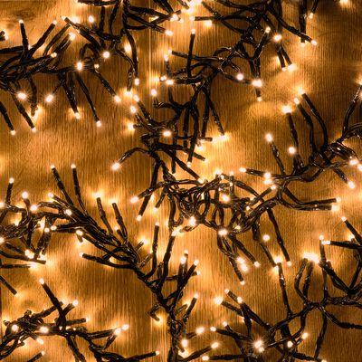Guirlande électrique - D10x560cm jaune-ANDRIA