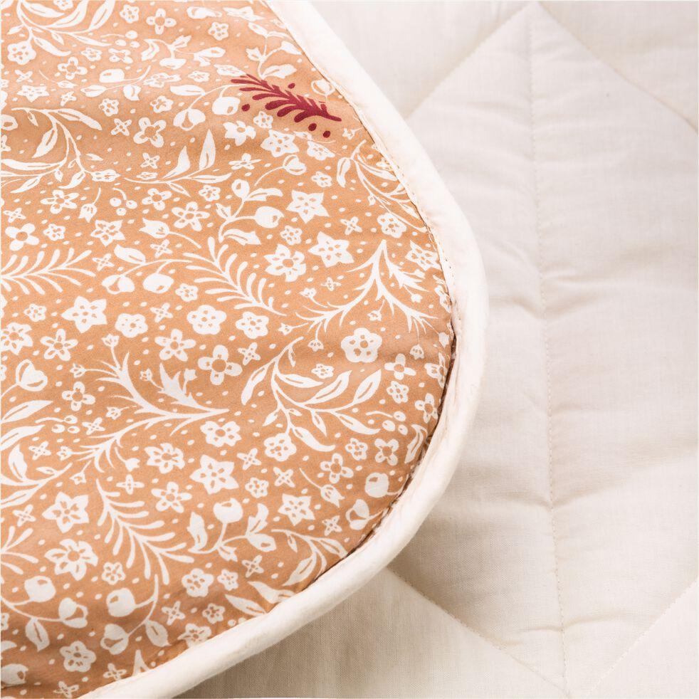 Tapis pour tipi 100x100 cm rose argile-LUENS