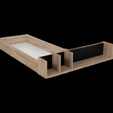 Tiroir et niche pour lit Castel en 140x200cm-CASTEL