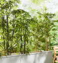 Plante artificielle hauteur 120cm-Bambou