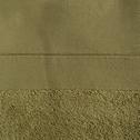 Serviette de toilette 50x100cm en coton kaki-MINH