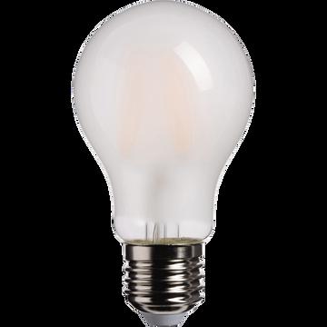 Ampoule LED verre dépoli D6cm culot E27-STANDARD
