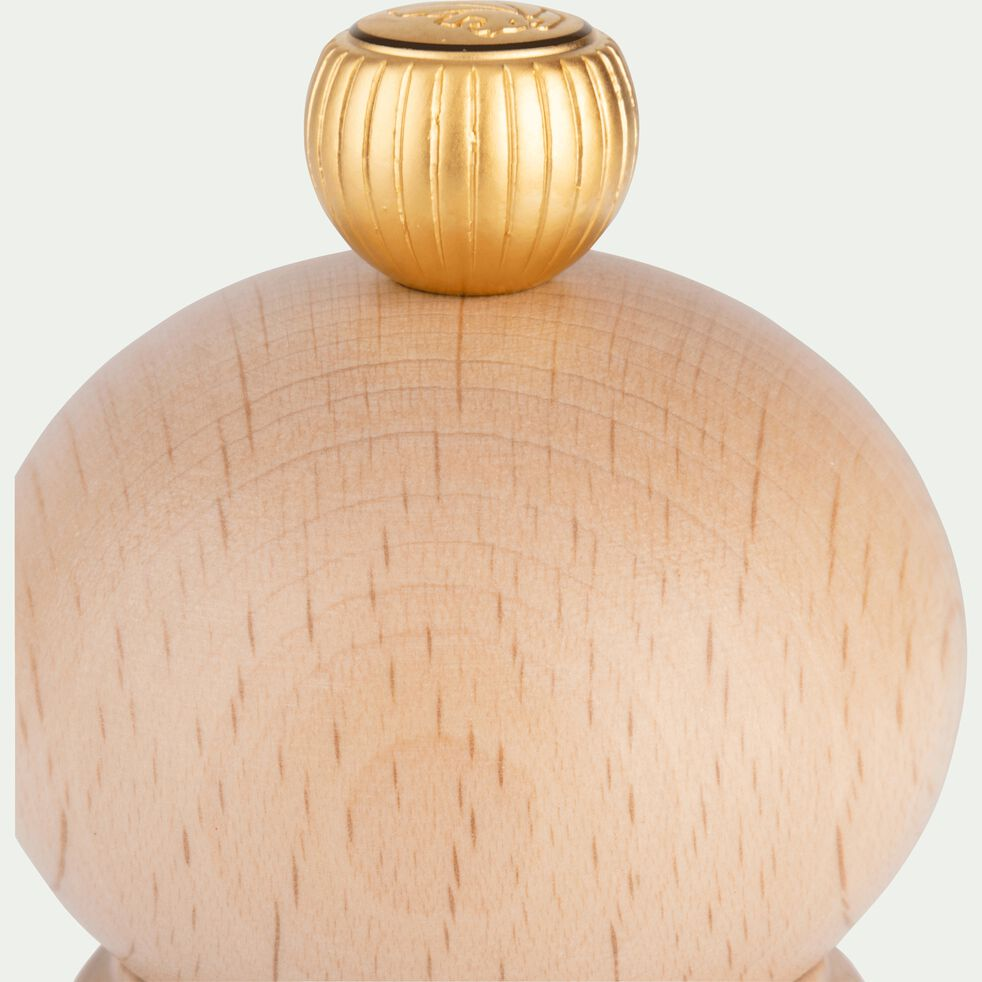 Moulin à poivre en bois de hêtre 12cm-PARIS
